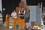 V Uhlířských Janovicích se hrálo ochotnické divadlo.