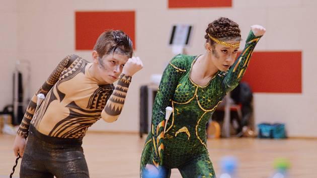 Sportovní hala Klimeška v Kutné Hoře hostila 2. března druhé Mistrovství České republiky v twirlingu WBTF.