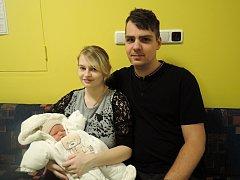 Michal Vodička přišel  na svět v čáslavské porodnici 9.prosince. Po porodu vážil 3450 gramů a měřil 51centimetrů. Domů do Čáslavi si ho odvezli šťastní rodiče Kateřina a Petr.