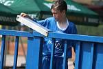 Fotbalový přátelský zápas, starší žáci, kategorie U14: FK Čáslav - MFK Chrudim 1:6 (1:2).