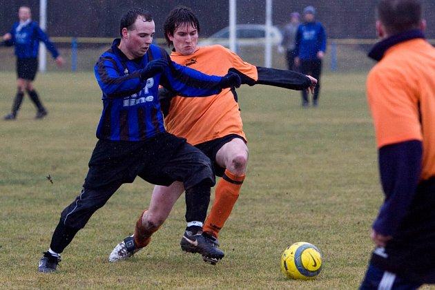 Fotbal (příprava): N. Dvory - Tupadly 1:5, neděle 8. února 2009