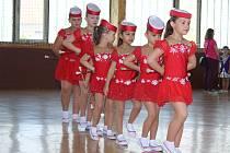 Třetí ročník soutěže Čáslavský pohár mažoretek se konal v hale Bios.