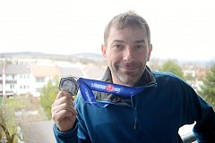 Nadšený závodník Spartan Race Richard Hrčkulák z Kutné Hory.