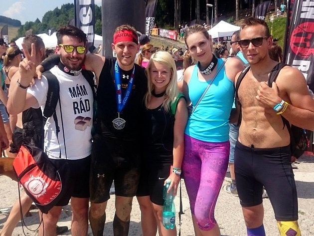 Část kutnohorského WILD Teamu na sovenských závodech v Donovalech.