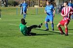 Z fotbalového utkání okresního přeboru Nové Dvory - Tupadly (0:2)