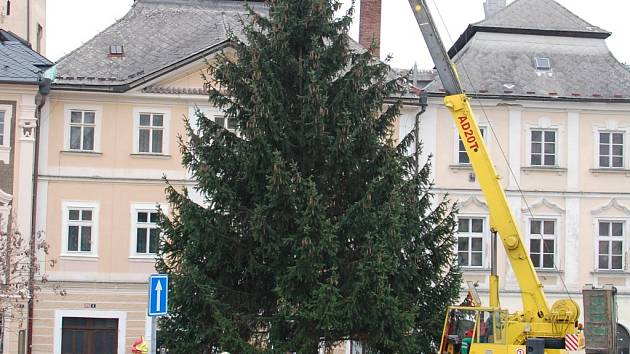 Kutnohorský vánoční stromeček pro rok 2014.