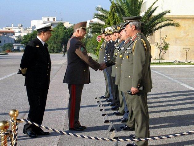 Generál Havril náčelník Generálního štábu Ozbrojených sil Maďarska.