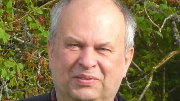 Předseda Klubu českých turistů v Kutné Hoře Jaroslav Liberský.