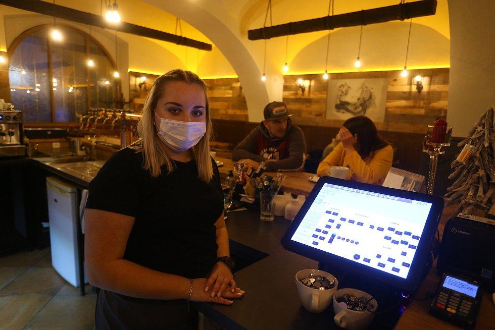 V restauraci U Havířů v Kutné Hoře.
