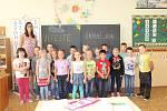 Na fotografii jsou žáci ze ZŠ Jana Palacha v Kutné Hoře, třída 1. B. paní učitelky Markéty Čermákové.