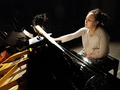 Mezinárodní hudební festival Kutná Hora 2017 je v plném proudu. Na snímku čínská klavíristka Wu Qian.