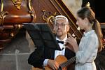 Noc kostelů v Uhlířských Janovicích se nesla ve znamení hudby
