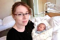 Štěpán Hošek se narodil 14. května v Čáslavi. Vážil 3600 gramů a měřil 54 centimetrů. Doma v Úmoníně ho přivítali maminka Alena a tatínek Roman.