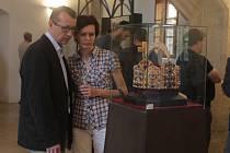 Vernisáž výstavy Kutná Hora a Lucemburkové na českém trůně – 700. výročí Karla IV. na Hrádku
