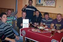 Vyhlášení Tip ligy čtenářů Kutnohorského deníku, 28. listopadu 2012.