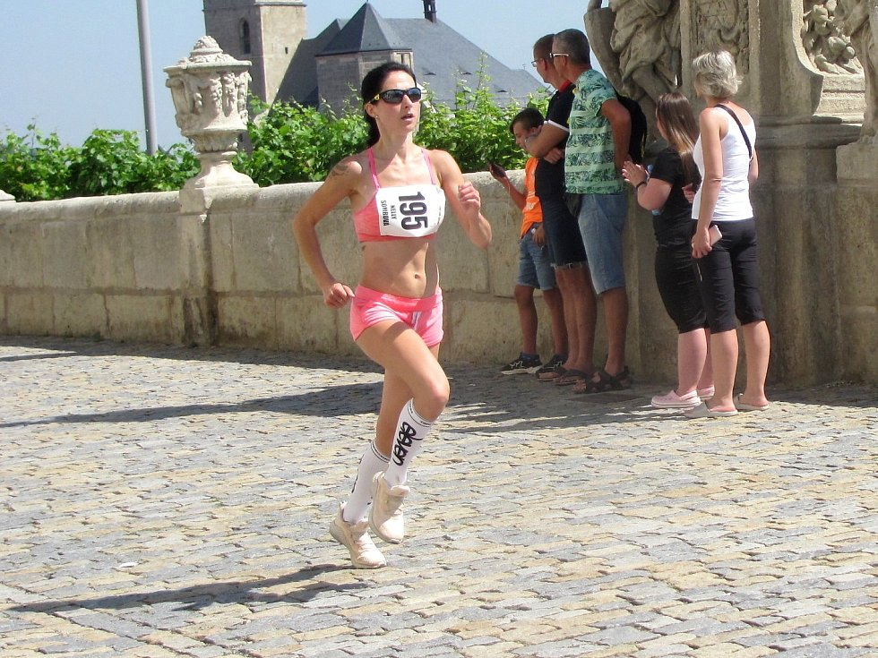 Z 12. ročníku běžeckého závodu Dačického 12 v Kutné Hoře.