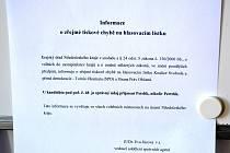 Na volebních lístcích na Kutnohorsku je chyba