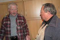 Karel Kraus a Milan Ťoupalík.