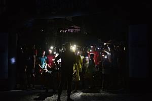 Noční běh pro Světlušku v Kutné Hoře.