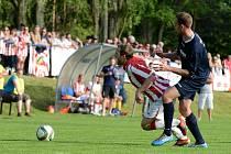 Divizní fotbalové derby: Suchdol - Kutná Hora 2:0, 21. května 2016.