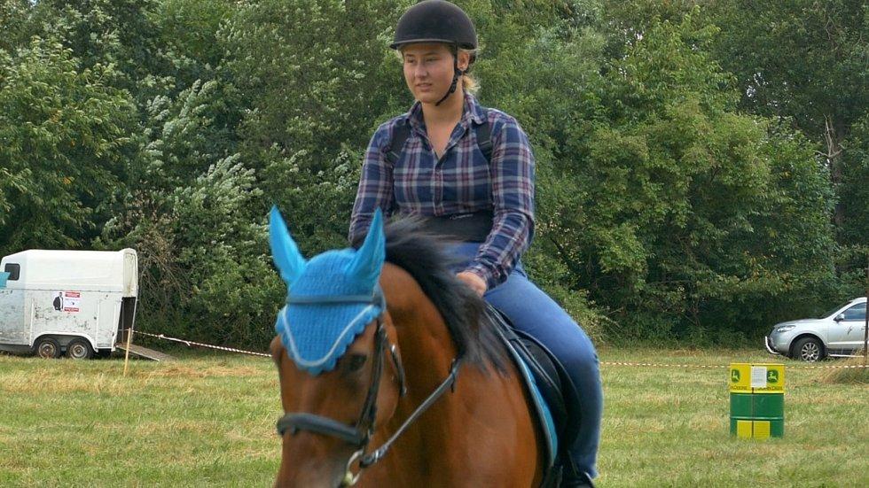 V Čestíně se uskutečnilo odpoledne s koňmi.
