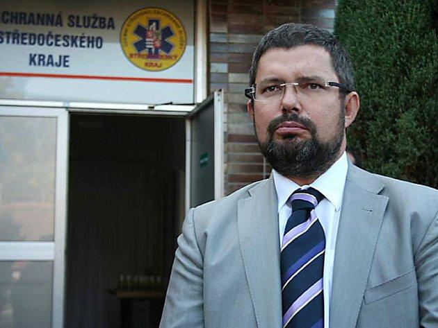 Odvolaný ředitel středočeské záchranné služby Robert Zelenák.