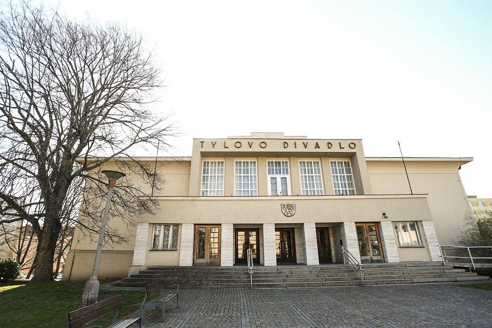 Tylovo divadlo v Kutné Hoře.