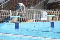 Ruch na Kutnohorské plovárně v létě 2016