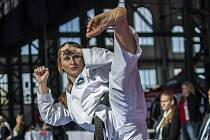 Taekwondistka Martina Kopecká získala v roce 2019 bronz z mistrovství světa.