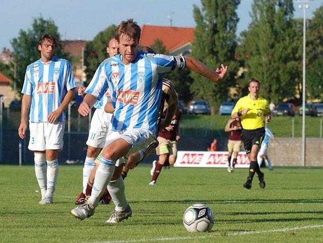 1. kolo II. ligy: Čáslav - Dukla Praha, 1. srpna 2010.