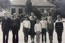 Posledních sedm žáků v Paběnicích