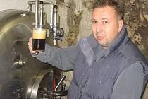Majitel pivovaru David Hořejší.