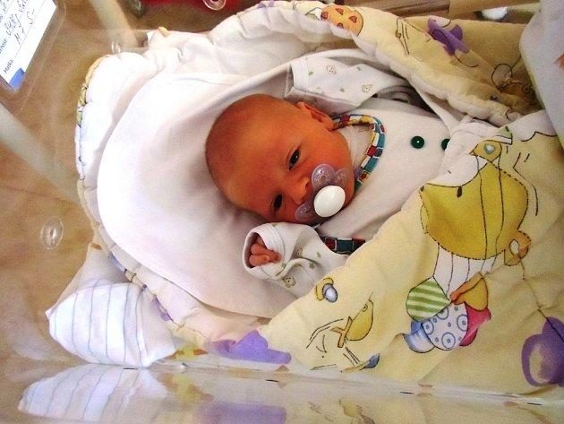 Vítek Taišl se narodil 20. dubna v Čáslavi. Vážil 3430 gramů a měřil 52 centimetrů. Doma v Kutné Hoře ho přivítali maminka Martina, tatínek Ivan a sestra Rozárka.