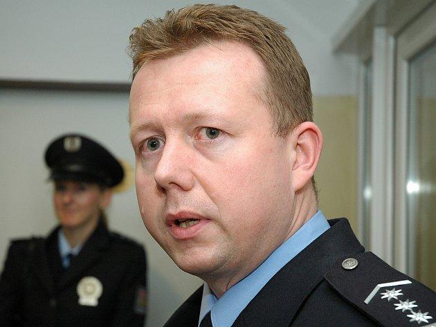 Policista Milan Komárek.