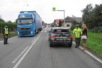 Nehoda v Horkách 27. srpna 2013