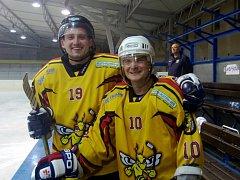Kutnohorští Sršni měli po prvním přípravném utkání důvod k úsměvu.
