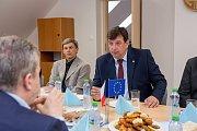 Starkoč navštívil ministr životního prostředí Richard Brabec