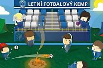 Letní fotbalový kemp v Čáslavi. Ilustrační foto.