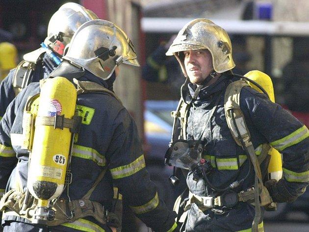 Hasiči museli hasit oheň v Domě s pečovatelskou službou v Čáslavi.