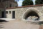 Veřejné toalety v Pacákových sadech v Kutné Hoře, takzvané WC u žáby,