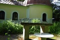 Poutní kaple Panny Marie u Roztěže.
