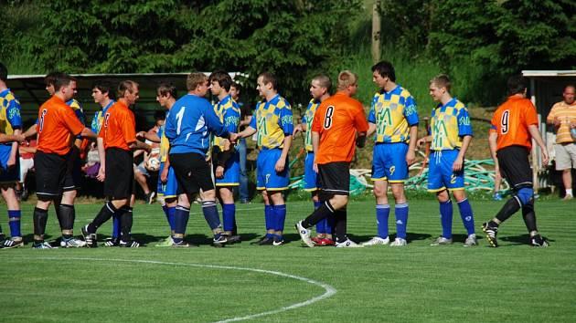 Z utkání OP Suchdol - Kaňk 2:3, sobota 23. května 2009