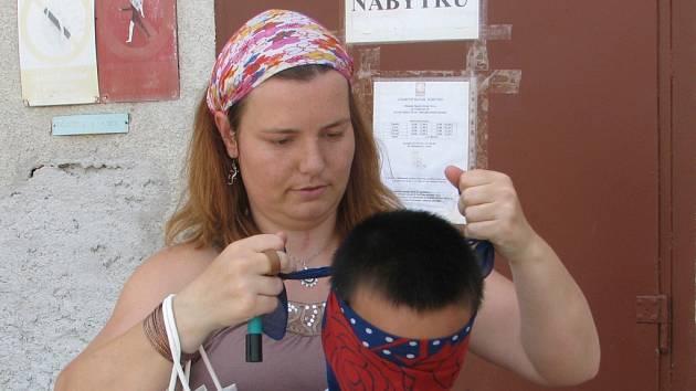 Dětský den v Oblastní charitě Kutná Hora.