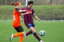 Fotbal ženy: Kutná Hora - Borovany, 3. 4. 2010