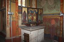Kaple Vlašského dvora v Kutné Hoře.