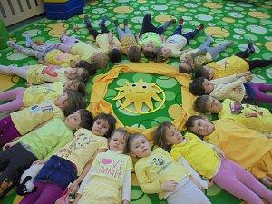 Děti prožily týden plný barev.