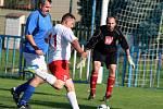 Fotbalová IV. třída, skupina B: TJ Sokol Malín B - TJ Sokol Červené Janovice B 4:3 pk (0:3).