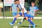 Fotbalový přípravný zápas mladších žáků U13: RMSK Cidlina Nový Bydžov - FK Čáslav.