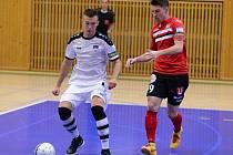 4. kolo CHANCE futsal ligy: Benago Zruč n. S. - Tango Hodonín 3:3, 7. října 2016.