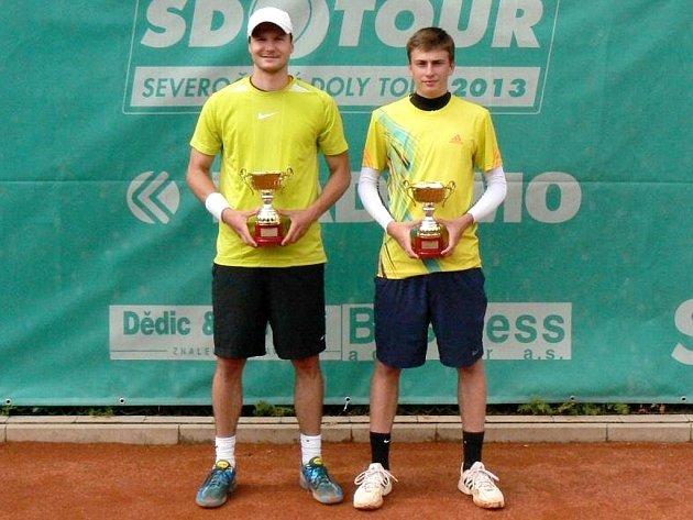 Filip Brtnický (vlevo) a Jakub Filipský.